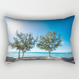 Turks and Caicos beach Rectangular Pillow