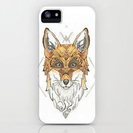 Fancy Fox iPhone Case