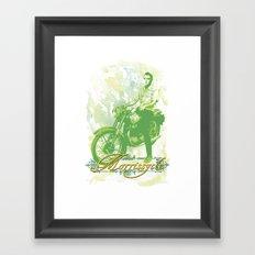 Morrissycle Framed Art Print