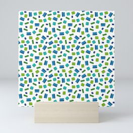 Op Amps - Color on White Mini Art Print