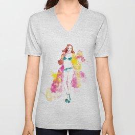 Rainbow Fashion Unisex V-Neck