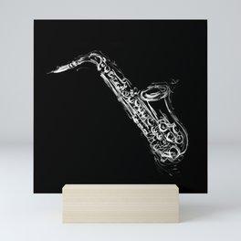 Alto Saxophone Mini Art Print