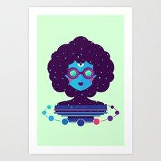 Ethereal Mistress Art Print