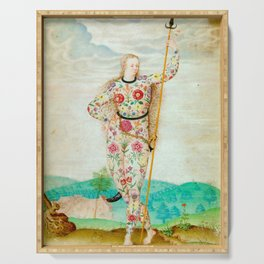 A YOUNG DAUGHTER OF THE PICTS - JACQUES LE MOYNE DE MORGUES Serving Tray