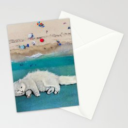 cat spirit Stationery Cards