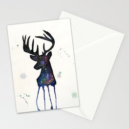 Spirit Nebula Stag Stationery Cards