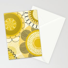 Look at the shining flowers!!! Stationery Cards