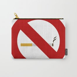 no smoking sign Carry-All Pouch