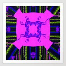 Internal Kaleidoscopic Daze-14 Art Print