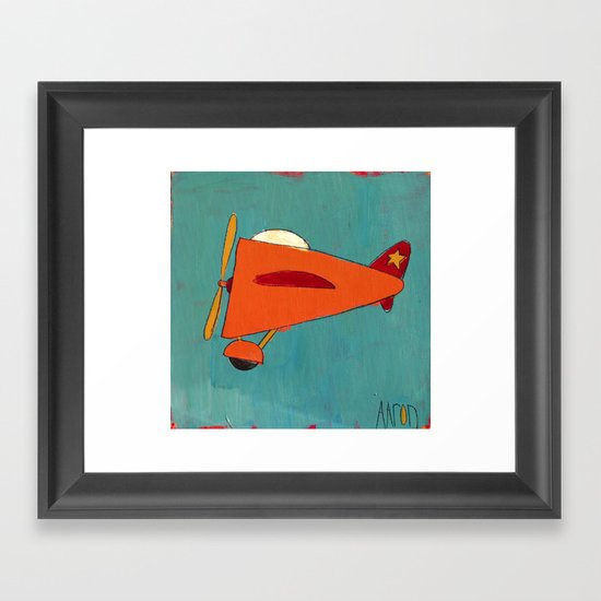 Air-Plane Framed Art Print