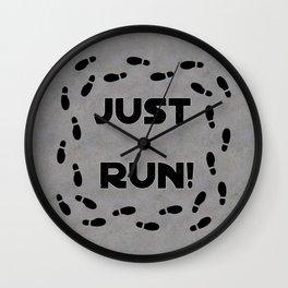 Just Run! Wall Clock