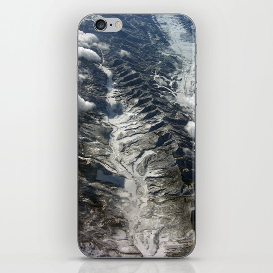 Dip Into The Rocks iPhone Skin