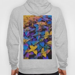 Flourescent Leaves Hoody