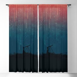 Meteor rain Blackout Curtain