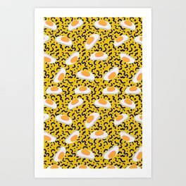 Candy Obsession - Gummy Fried Eggs Art Print