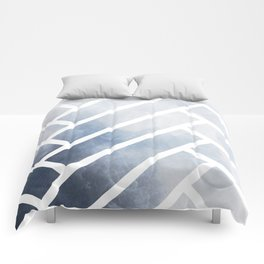 winter herringbone Comforters