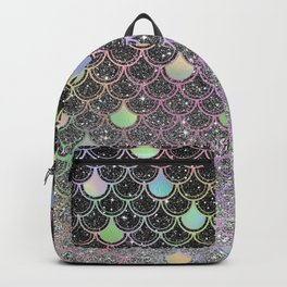 Mermaid scales ombre glitter #2 Backpack