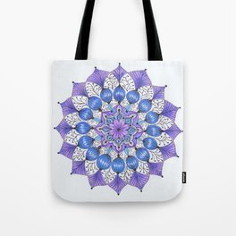 Rhapsodala in Blue Tote Bag