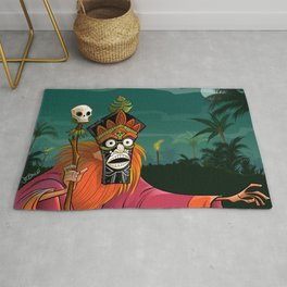 Tiki Witch Doctor Rug