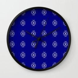 snowflake 9 For Christmas ! Wall Clock