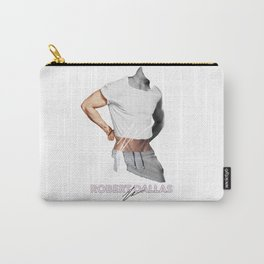 """""""HANDSOME BUNS"""" BY ROBERT DALLAS Carry-All Pouch"""