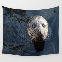 Sweet See Seal Wall Tapestry