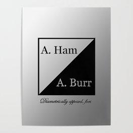 A. Ham / A. Burr Poster