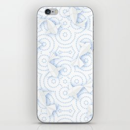 Origami Koi Fishes (Porcelain Version) iPhone Skin