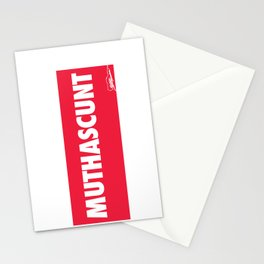 MUTHASCUNT Stationery Cards