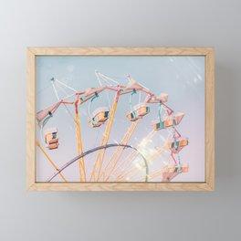 Fairground Framed Mini Art Print