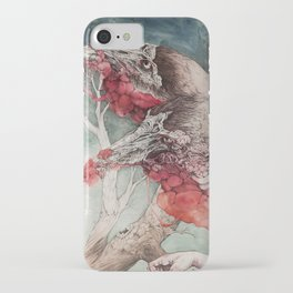 """""""Insatiable"""", as a print iPhone Case"""