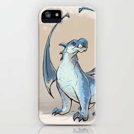 Blue Dragon iPhone Case