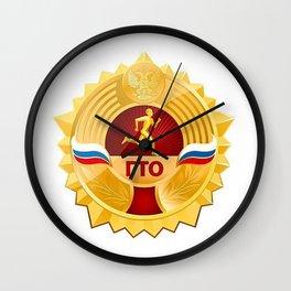 Sport sign Russia Wall Clock