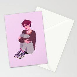 oikawa tooru - glasses Stationery Cards