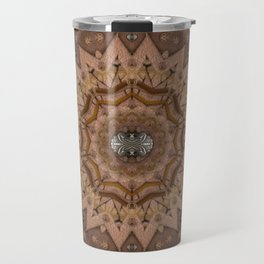 peace on earth in leather Travel Mug