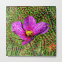 DeepDream Flowers, Wild Flower, DeepDream style Metal Print