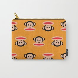 Julius Monkey Pattern by Paul Frank - Orange Carry-All Pouch