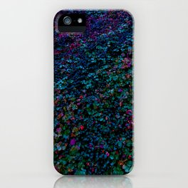 Cotoneaster in Cold Colours iPhone Case
