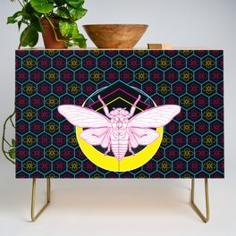 Geometric Cicada Credenza