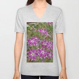 little flower - flor do campo Unisex V-Neck