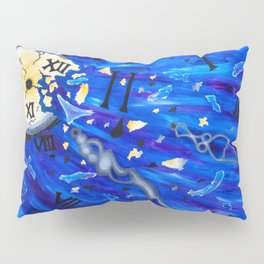 Shattered Time Pillow Sham