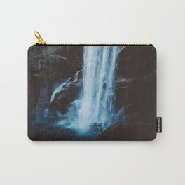 Blue Vernal Falls Carry-All Pouch