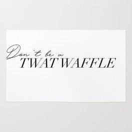 twat waffle Rug