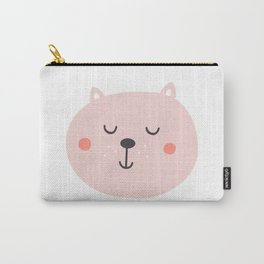 Baby Bear | Smiling Critter Carry-All Pouch