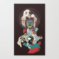 broken Canvas Prints featuring broken by Thiago Souto
