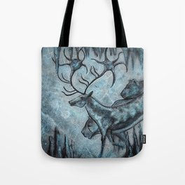 Crystal Cavern Procession Tote Bag