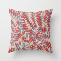 iggy Throw Pillows featuring Iggy Palms by Gukuuki Studio