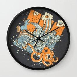 El viaje de Carlitos Wall Clock