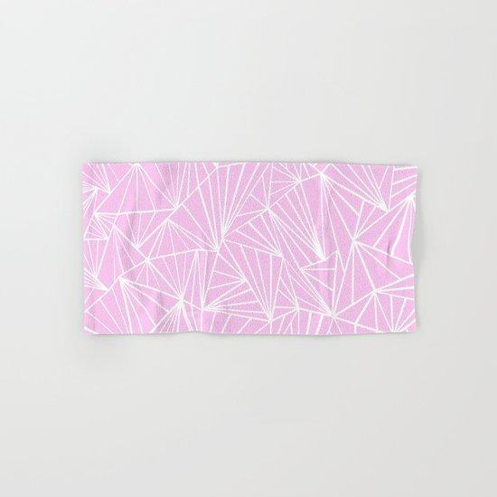 Ab Fan Pink Hand & Bath Towel