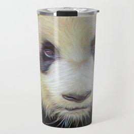 Giant Panda II  (digital painting) Travel Mug